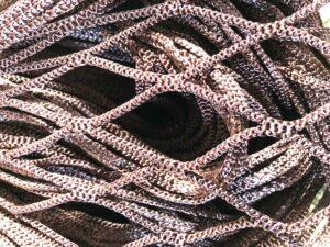 Red nylon sin nudo / Nylon net without knot