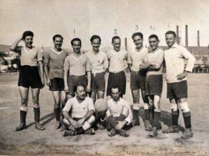 Equipo fútbol años 60 / Football team in the 60s