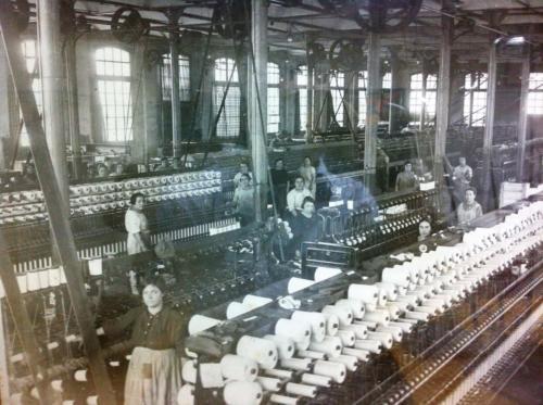 Fábrica principios s XX / Factory, early 20th century