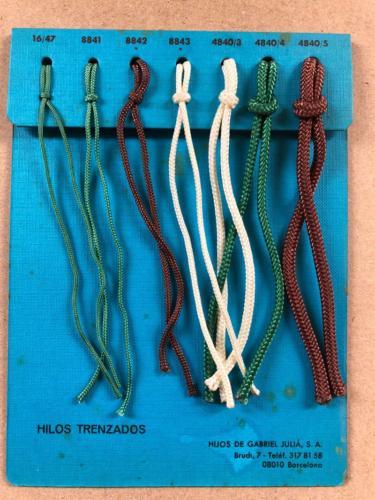 Hilos trenzados / Braided lines